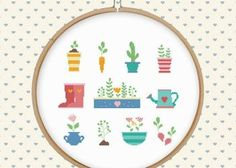 Learn how to cross-stitch with free patterns and tutorials. Get special occasion patterns for weddings, holidays, babies and more.