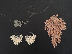 Japanese artist Miho Fujita crafts delicate crochet jewelry inspired by natural wonders. Each accessory reimagines plants as wearable works of art.