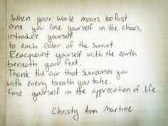 christy ann martine – Café Birdy