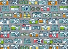 Organic Quilting Prints - Cameras for annie
