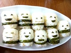 Haha! They all look so happy maybe they don't know that they will be eaten yet! ( ´ ▽ ` )ノ - 21件のもぐもぐ - which guy do you like? my favorite one is... どの子が好き?私のお気に入りは…(*^^*) ginger rice. 生姜ごはん by Babyelephant-T