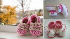 Βελονάκι λείες μωρών για | 26 Piece Τυπική μποτάκια Φορέματα μωρό μαζί σας