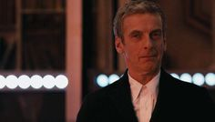 Deep Breath.  The Doctor asks Clara with his eyes for her approval on his choice of clothes. She ignores him.