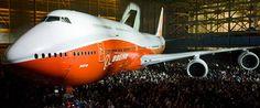Avión de pasajeros intercontinental Boeing 747-8 » Archivo del blog » Fieras de la Ingeniería