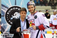 OHL Grad Rob Davison Retires to Become Coach in Salzburg, Austria with EC Salzburg Red Bull of the EBEL. Davison played his OHL days with the North Bay Centennials and appeared in the NHL with the San Jose Sharks, New York Islanders, Vancouver Canucks and New Jersey Devils.