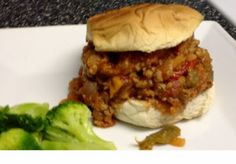 Weight Watcher Girl: Weight Watchers Style SLOPPY JOES! Delicious!! 2 Points Per 1/2 Cup Serving!