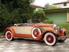 "doyoulikevintage: "" 1929 Packard Custom Eight Roadster """