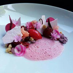 "By @pastryaandepoel ""Raspberry, beetroot, rose and hazelnut..."" #foodphotography #f52grams #food #foodporn #gourmet #instagramfood #chef #foodart #lovefood #artofplating #instafood #yummy #foodpic #photooftheday #instagourmet #dinner #foodvsco #dessert #delicious #taste #foodartchefs #eat #gastronomy #love #foodie #cook #cooking #foodgasm #culinaryart"