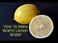 Start Your Day with Warm Water & Lemon - YouTube from Ashley's Green Life Good info and a fun video to watch makes this pin double the fun!