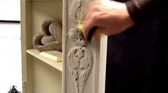 Trying out Autentico chalkpaint - PART 2 - hard grinding and chalk wax - YouTube