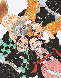 How long have You been a fan? Manga Anime, Anime Demon, All Anime, Manga Art, Anime Art, Demon Slayer, Slayer Anime, Dark Fantasy, Wall Prints