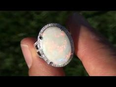 kind of completely obsessed with opal engagement rings now!