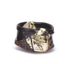 GORDON CROSBY  Teabowl, 2006  high-fired earthenware  diam. 18 cm (7 inches)