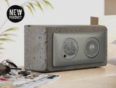 L'i-Cube 1R Radio béton Brut par blabdesign sur Etsy