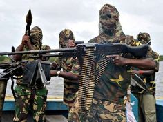 Niger Delta Avengers - destruction of oil facilities