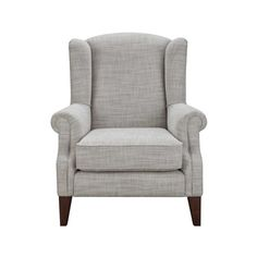 Classic Wing Armchair ($670) ❤ Liked On Polyvore Featuring Home, Furniture,  Chairs
