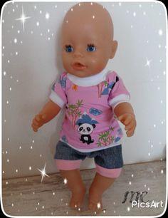 Auto Jacke für Baby Born 43 cm.Krümel  7-Teilig für Jungen Puppen & Zubehör Babypuppen & Zubehör