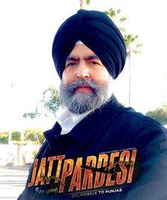 #JaspreetSinghAttorney at law USA during a movie Scene in up coming Punjabi movie #JattPardesi