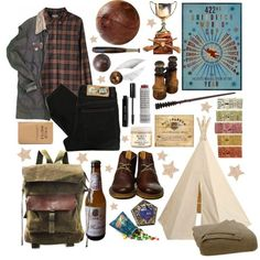 the wizarding world polyvore - Google Search