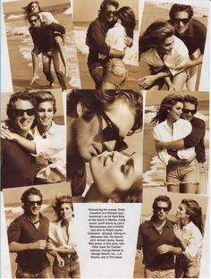 Cindy Crawford & Richard Gere in American Vogue, 1992 by Herb Ritts