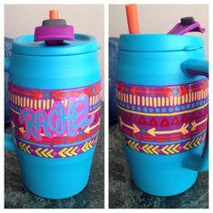 Tribal print bubba keg