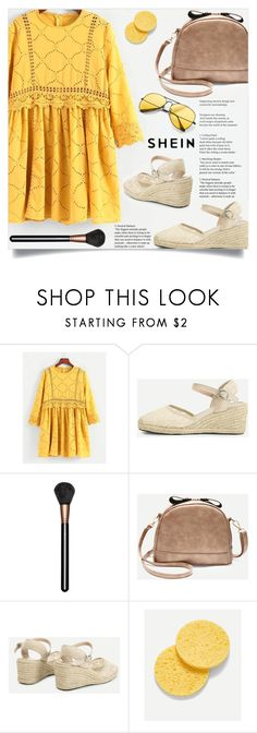 """""""Power of yellow."""" by dzansumansu ❤ liked on Polyvore featuring MAC Cosmetics"""