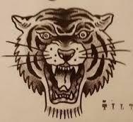 Resultado de imagen de tatuaje de cabeza de pantera estilo tradicional