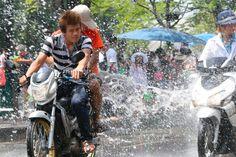 Mochileros por el Sudeste Asiático: Festival Songkran Tailandia - Recorriendo