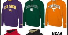 E5 Men's NCAA Hoodies $23.97 (Retail $50)