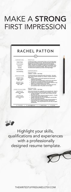 Creative Resume Template Modern CV by TheWriteStuffResumes Meg - how ro make a resume
