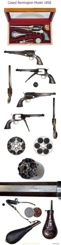 New Model Army Revolver Remington model 1858: