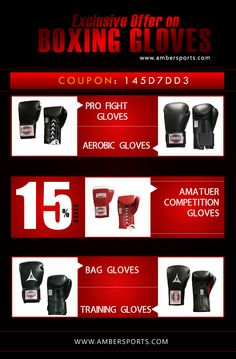 15% offer in Boxing gloves