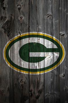 Green Bay Packers Wood Logo