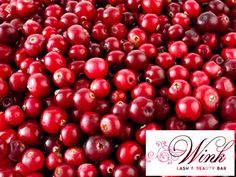 Show your face how much you care with our Cranberry Facial! It's antioxidant-rich, smoothing, soothing & anti-aging!