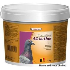 Versele Laga Colombine All-In-One Pigeon Food 4kg Versele Laga Colombine All-In-One the most complete mineral mix Both vitamins and minerals are  essential to promote optimal metabolic function in pigeons and they also play an important part in supporting muscles and bones.