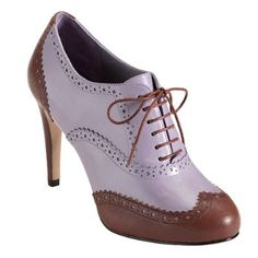 Cole Haan 'Lucinda' heeled oxford in Sequoia/Cockle.