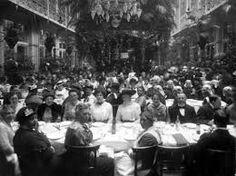 banket in krasnapolsky na afloop van een betoging voor vrouwenkiesrecht 1916 amsterdam