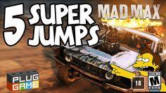 MAD MAX - 5 Super Jumps (Playstation 4 - 1080p / 60fps)
