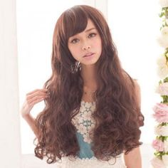 Long Full Wig - Wavy Coffee - One Size Brand from Taiwan: Clair Beauty. Color: Coffee, Materials: Heat Friendly Fibre, Size: One Size Front Length : Rear Length : Care: Hand Wash Only Alexandrite Jewelry, Discount Jewelry, Facial Care, Wigs, Long Hair Styles, Coffee, Taiwan, Color, Beauty