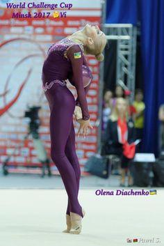 Olena DIACHENKO (Ukraine) ~ Ball @ World Challenge Cup Minsk 05-06/08/'17   Photographer Pawel S.