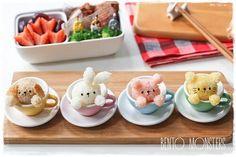 animals in teacups