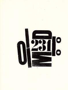 H N Werkman, The Next Call by Iliazd, via Flickr