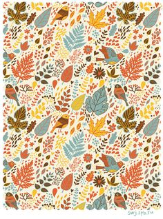 Patterns2 by Julia Grigorieva, via Behance