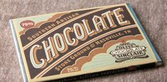 The darker of Olive & Sinclair's pure chocolate offerings, this bar features the deep, earthy flavors that result from Dominican cacao beans stone ground with Olive and Sinclair's signature brown sugar.