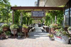 Independence Beer Garden Now Open For The Season! #idea #local #philly # Garden #gardens #family #friends #drink #drinks