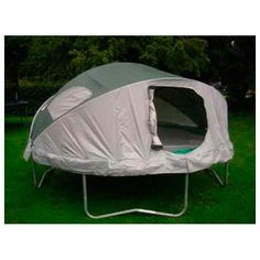 Cool Idea Tr&oline Tent | Tr&oline tent Backyard playhouse and Tr&olines  sc 1 st  Pinterest & Cool Idea: Trampoline Tent | Trampoline tent Backyard playhouse ...