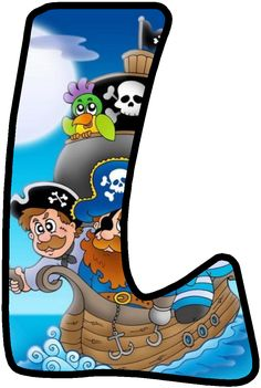 Pirate Birthday, Pirate Party, Pirate Font, Bad Eggs, Number Art, Letter Of The Week, Christmas Frames, Alphabet And Numbers, Shrek