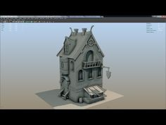 Maya Modeling techniques (how to guide) part 4 - YouTube