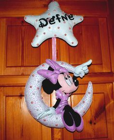 Bebek Kapı Süsü Minnie Mouse