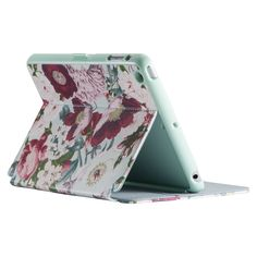 Speck Stylefolio for iPad mini / mini 2 / mini 3 - Vintage Bouquet (Sea Glass), Vintage Floral Ipad Mini Cases, Ipad Mini 3, Ipad Case, Mini Mini, Iphone 5se, Portfolio Case, Best Ipad, Apple Watch Iphone, Backpack For Teens